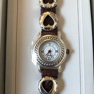 Brighton Jewelry - Vintage Brighton Deadstock Leather Watch NWOT